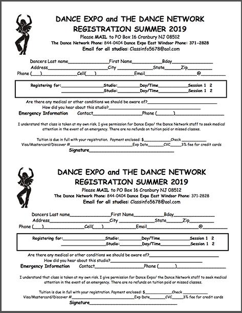 Registration Summer Classes