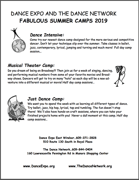 Schedule Summer Camps